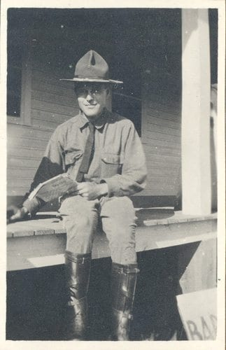 Jack Bainbridge, a friend of Mortimer's who also made the cut at Fort Sill.