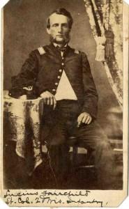 Lucius Fairchild, ca. 1862.