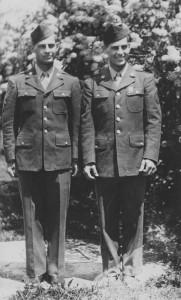 Willard (left) and Wilbur (right) Diefenthaler.