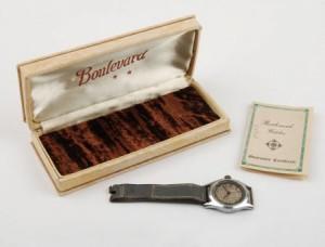 Willard Diefenthaler's wristwatch.