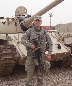 Combat medic Charles Schellpeper